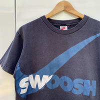 NIKE/ナイキ スウォッシュロゴ Tシャツ 90年前後 Made In USA (USED)