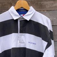 TOMMY HILFIGER/トミーヒルフィガー ラガーシャツ 90年代  (USED)