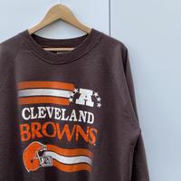 NFL BROWNS/クリーブランド ブラウンズ スウェット 90年前後 Made In USA (USED)