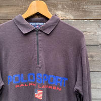 POLOSPORT/ポロスポーツ ロングスリーブ鹿の子ポロシャツ 90年代 (USED)