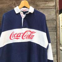 COCA-COLA/コカコーラ ラガーシャツ 90年代 (USED)