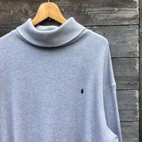 PoloRalphlauren/ポロラルフローレン タートルネックサーマルロングスリーブTシャツ 90年代 (USED)