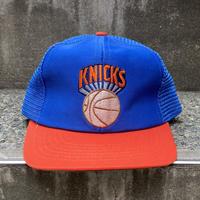 NBA NEW YORK KNICKS/ニューヨーク ニックス トラッカーキャップ 90年代 (USED)