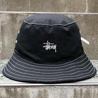 STUSSY/ステューシー ロゴバケットハット 90年代  (DEADSTOCK)