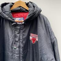 STARTER NBA BULLS/スターター ブルズ 中綿ジャケット フード付き 90年代 (USED)