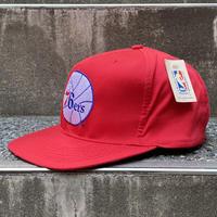 NBA 76ers/フィラデルフィア シクサーズ キャップ 90年代 (DEADSTOCK)