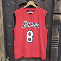 NBA LAKERS/ロサンゼルス レイカーズ バスケットタンクトップ 8 BRYANT 2000年代 (USED)