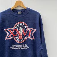NFL 1992 SUPERBOWL ロゴスウェット 92 年 Made In USA (USED)
