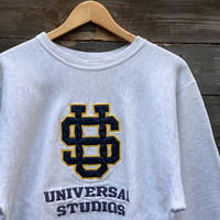 Champion UNIVERSAL STUDIO/チャンピオン ユニバーサルスタジオ リバースウィーブ ロゴ刺繍スウェット 90年代 Made In USA (USED)