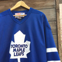TORONTO MAPLE LEAFS/トロントメイプルリーフス ホッケーシャツ 90年代 Made In CANADA (USED)