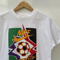NIKE/ナイキ NIKE SOCCER ロゴ Tシャツ 90年代 銀タグ Made In USA (USED)