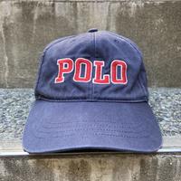 Polo RalphLauren/ポロラルフローレン ロゴキャップ 90年代 (USED)