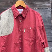 Columbia Sports Wear/コロンビア 切り替えシャツ 2000年前後 (USED)