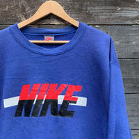 NIKE/ナイキ ロゴスウェット 90年前後 銀タグ Made In USA (USED)