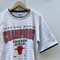 SALEM NBA CHICAGO BULLS/セーラム シカゴブルズ  ワールドチャンピオンTシャツ 92年製 Made In USA (USED)
