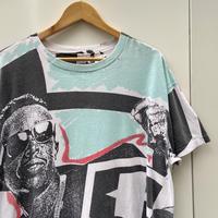 MC HAMMER/エムシーハマー 総柄Tシャツ 90年代 Made In USA (USED)
