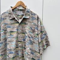 Columbia/コロンビア 半袖柄シャツ 2000年代 (USED)