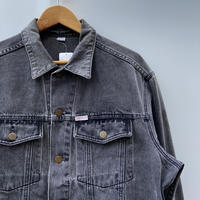 GUESS by GEORGES MARCIANO/ゲス ジョージズマルシアーノ ブラックデニムGジャン 90年代 Made In USA (USED)
