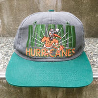 MIAMI HURRICANES/マイアミハリケーンズ キャップ 90年代 (USED)
