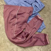 NIKE/ナイキ ライン入りジャージーパンツ 80年代 紺タグ (USED)