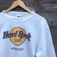 HARD ROCK CAFE/ハードロックカフェ ロゴ スウェット 90年代 Made In USA (USED)