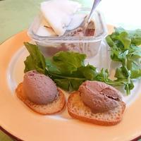 シェフ自慢の白レバームース Mousse de Foie de Volaille Blanc