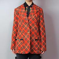 Vintage   Check Jacket