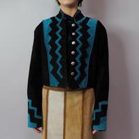 Vintage   suede design Jacket