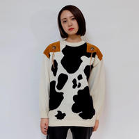 Vintage   Cow Knit