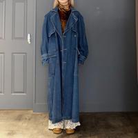 Vintage   Denim Trench Coat