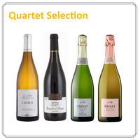【Quartetセレクション】オーガニックワイン(白・赤・スパークリング)