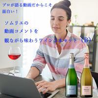 プロが語る動画だからこそ面白い!ソムリエの動画コメントを観ながら味わうワイン2本セット(B)