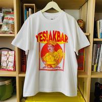 YES!アクバルTシャツ【White】