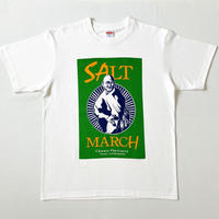 ガンジーの歴史的塩対応Tシャツ【塩色/カラー】