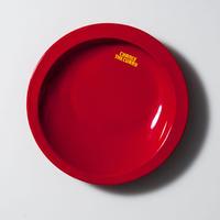 メタメタすくいやすいカレー皿(赤)