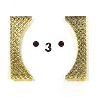 Bracket earrings 【すみ付きカッコ】のピアス・イヤリング/ダイヤ系