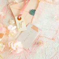 A1サイズ:ストックピンク「花香」を感じる5種の淡い色のスタイリングボード