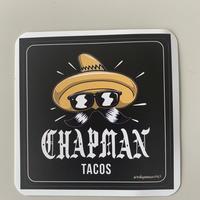 Chapman tacos ステッカー