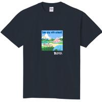 さんぽTシャツ【ちゃらぽこオリジナル】公園アニマル