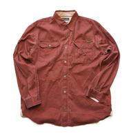 Columbia XCO/Work Shirts/Maroon/Used