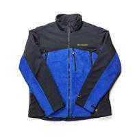 Columbia /2Face Fleece Stand Jacket(OMNI-HEAT)/Blue/Used