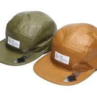 "DL HEAD WEAR(ディーエルヘッドウェア)Omega 5Panel Camp Cap""tyvek olive"" ""tyvek earth""(2カラー)DL002001"