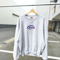 90's RUSSELL ATHLETIC/US SHOP CREW NECK/Grey/Used