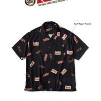 """INTERBREED(インターブリード) INTERBREED(インターブリード)RAW x INTERBREED """"Package Textile Shirts""""(Black)IB20SS-40"""