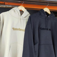 INTERBREED(インターブリード)Pile Patched Logo Hoodie(2カラー)IB20AW-22