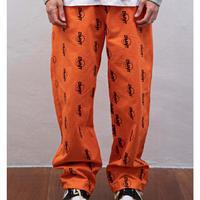 DOMINANT(ドミナント)SIMPLE LOGO WIDE PANTS(ORANGE) 商品番号 DMNT20SF-0001-30【正規品】