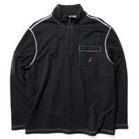 NAUTICA /Stich Half Zip Fleece/Black/Used