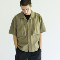 WILD THINGS(ワイルドシングス)ナイロンキャンプシャツ(3カラー)   S/S CAMP SHIRT商品番号 WT21016PA【国内正規品】