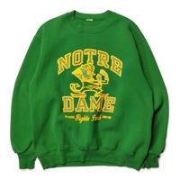 Notre Dame Fighting Irish football Sweat/Green/Used
