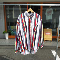 Ralph Lauren CHAPS /Stripe Button Down Shirt/Multi/Used